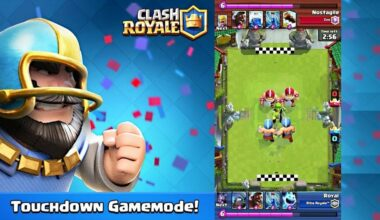 Clash Royales Touchdown Mode