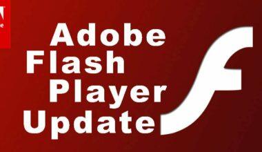 Flash Player Updates 2017