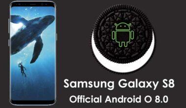 Samsung Galaxy S8 Oreo