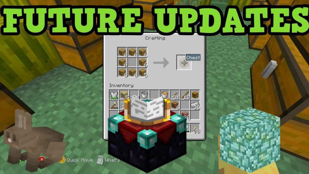 Minecraft Xbox 360 updates