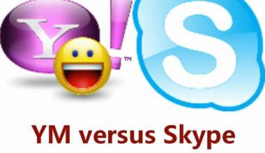Yahoo Messenger vs Skype