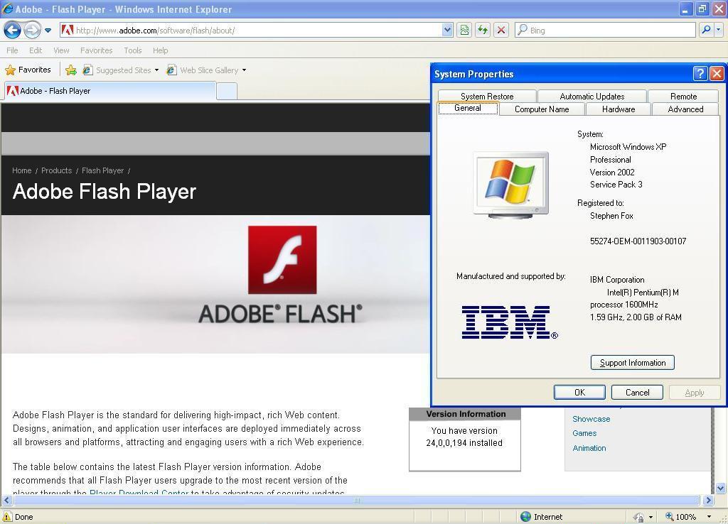 Adobe Flash Player Latest Update