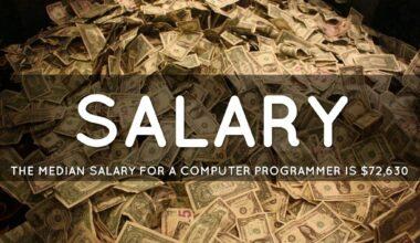 Computer Programmers Salary