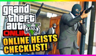 GTA Online Heist Checklist