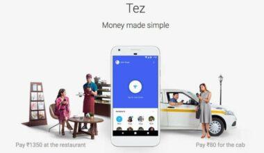Google Payment Option Tez