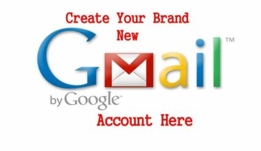 Signup for Gmail