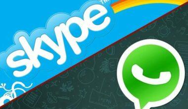 WhatsApp Vs Skype Voice Call