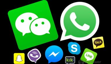 Whatsapp Vs Skype Vs WeChat