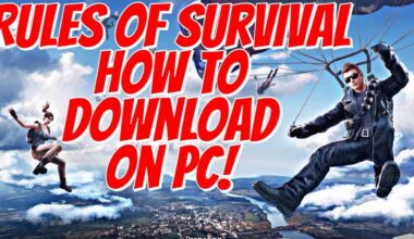 Rules of Survival Windows 10 Download