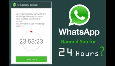 WhatsApp Plus Ban