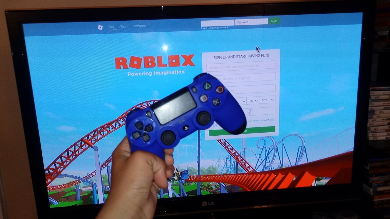 How To Use Ps4 Controller On Pc To Play Roblox لم يسبق له مثيل