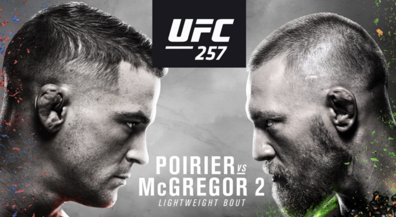 UFC 257 time south africe