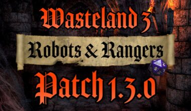 wasteland 3 patch 1.3.0