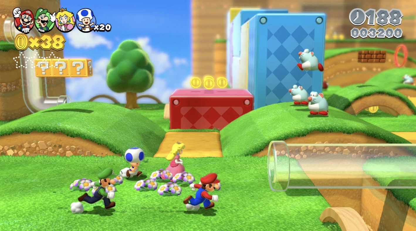 Super Mario 3D World Switch Release Time