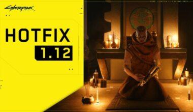 cyberpunk 2077 update 1.12