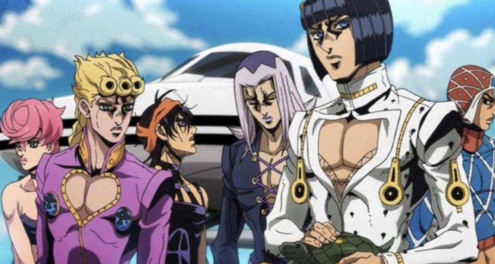 Jojo Part 6 Anime Release Date 2021