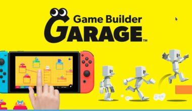 nintendo game bulider garage