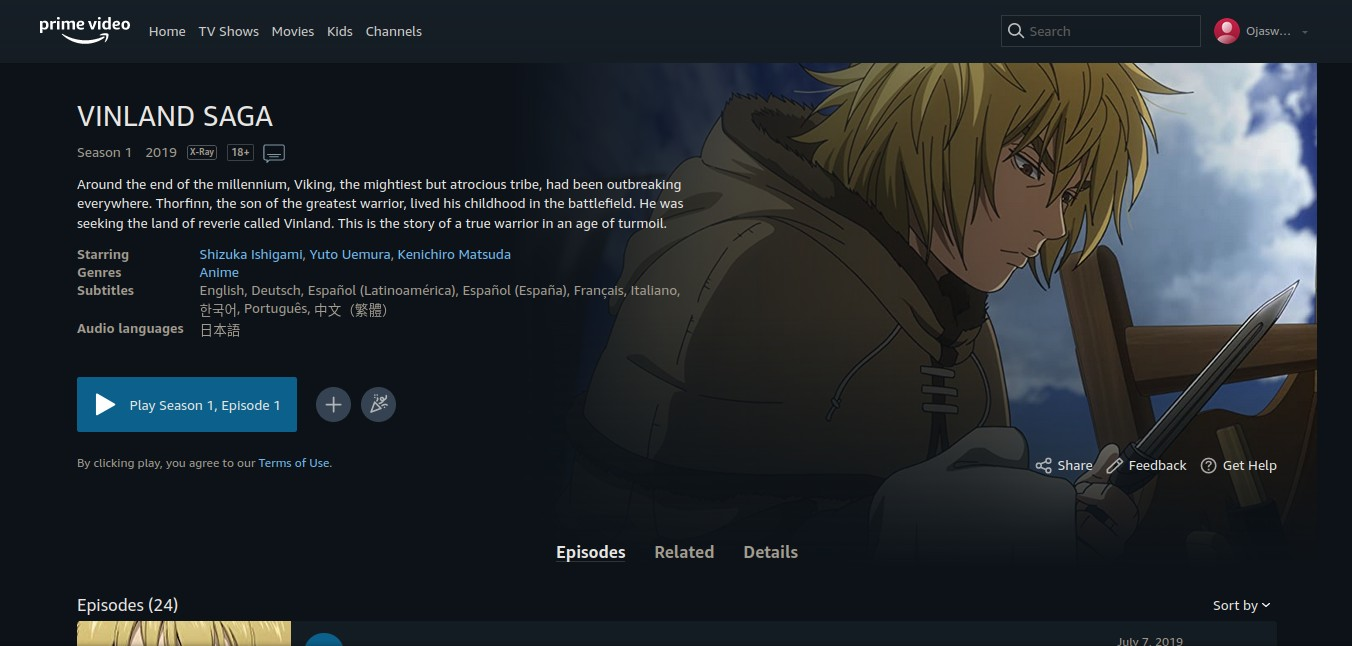 Vinland Saga Season 2 Episode 1 Release Date